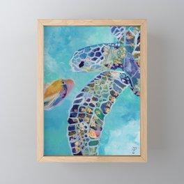 Best Friends Framed Mini Art Print
