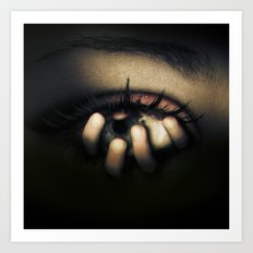 Out of Mein Eye Art Print
