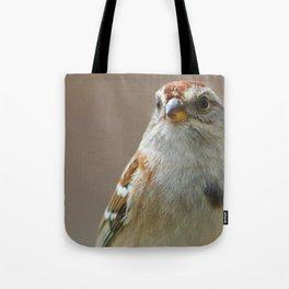 American Tree Sparrow Tote Bag