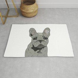 Frenchie Bulldog Puppy Rug
