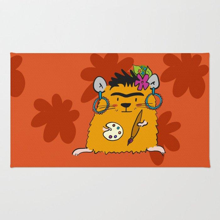Hamster Frida Rug