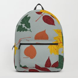 Colorful Autumn Leaves Backpack