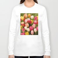 tulips Long Sleeve T-shirts featuring *Tulips* by Mr and Mrs Quirynen