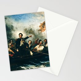 Battle of Lake Erie - Oliver Hazard Perry - War of 1812 Stationery Cards