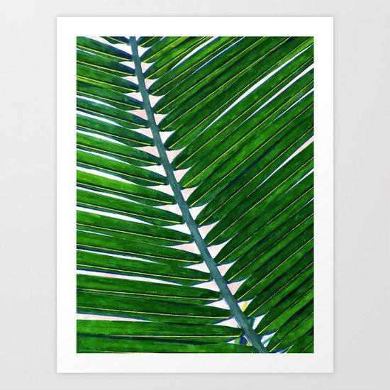 Foliage V3 #society6 3decor #buyart #lifestyle Art Print