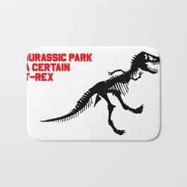 A Certain T-Rex Bath Mat