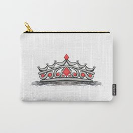 Red Tiara Carry-All Pouch