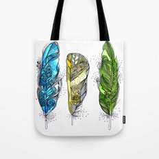 Dream Feathers Tote Bag