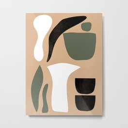Abstract Shapes # 4 Metal Print