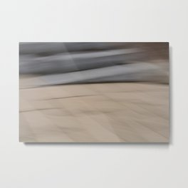 Movement on the Quay Metal Print
