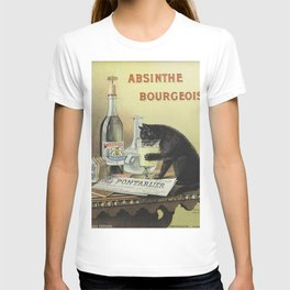 Vintage poster - Absinthe Bourgeois T-shirt