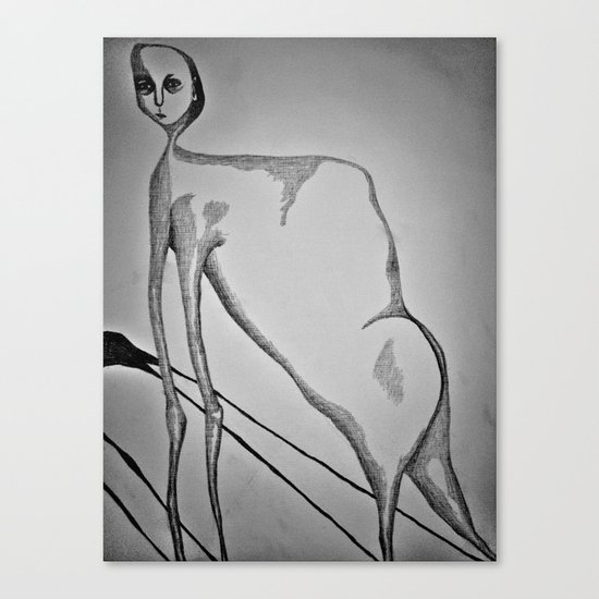 Evolution Creates Problems Canvas Print