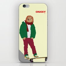 CHUCKY - Modern outfit version iPhone & iPod Skin