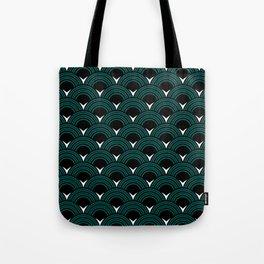 Art Deco Shell Print Tote Bag