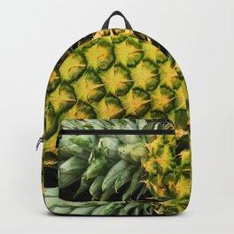 Horizontal Hawaiian Pineapples Backpack