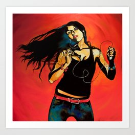 Feel Like Dancing Art Print