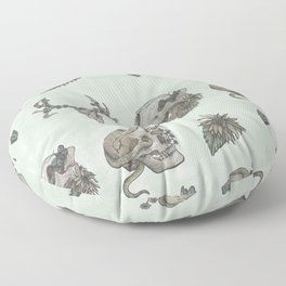 Patterns of Nature Floor Pillow