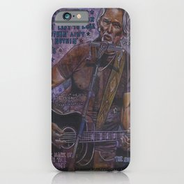Kris Kristofferson iPhone Case