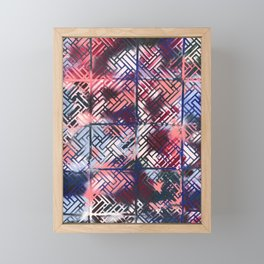trap door Framed Mini Art Print