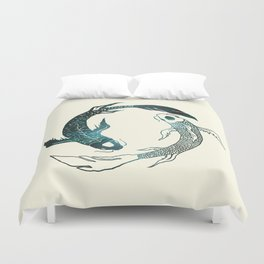 Balance in the Universe Duvet Cover