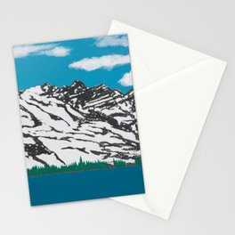 Banff Lake View Stationery Cards