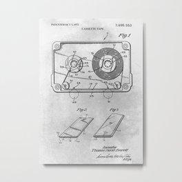 Cassette tape Metal Print