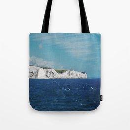WHITE CLIFFS Tote Bag