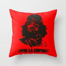 Viva la Empire! Throw Pillow