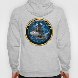 Airborne Electronic Attack EA-18 Growler Cartoon Hoody