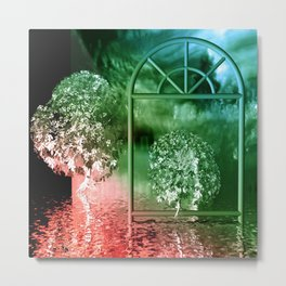 red and green light Metal Print