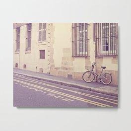 Special Delivery - Paris Bicycle Metal Print