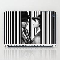 casablanca iPad Cases featuring Inside a Barcode. by Luigi Tarini