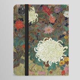 flower【Japanese painting】 iPad Folio Case