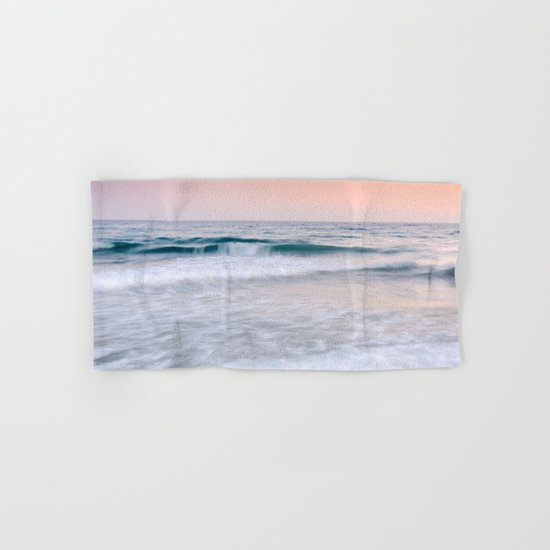 """Pink sunset"". Summer dreams.... Hand & Bath Towel"