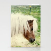 pony Stationery Cards featuring Pony by angela haugland