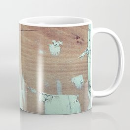 Wooded shipboard repairing Coffee Mug