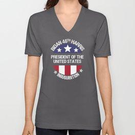 Joe Biden 46th President Inauguration Day 2021 Unisex V-Neck