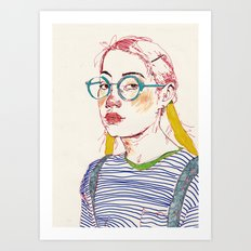 girl6 Art Print