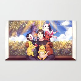 I WILL ALWAYS REMEMBER THIS - Markiplier + FNAF Canvas Print