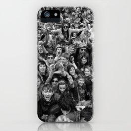 Mass hysteria iPhone Case