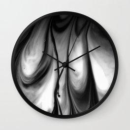 Ink & milk Wall Clock