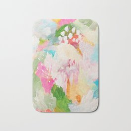 fantasia: abstract painting Bath Mat