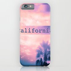 California Pink Slim Case iPhone 6s