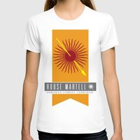 martell T-shirts featuring House Martell Sigil by P3RF3KT