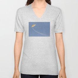 Kite in the Sky Unisex V-Neck