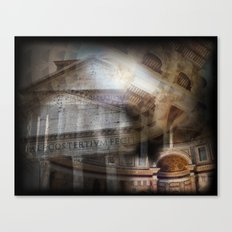 The Pantheon Rome Italy Canvas Print