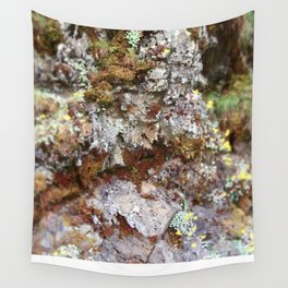 Yellow Starry Flowers in an Alpine Trough Wall Tapestry