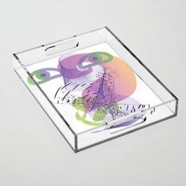 double vision Acrylic Tray