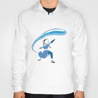 airbender Hoodies featuring Katara by JHTY