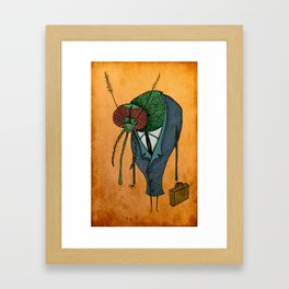 Executive Mosquito Framed Art Print